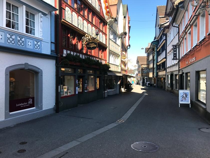 Rua do centro histórico