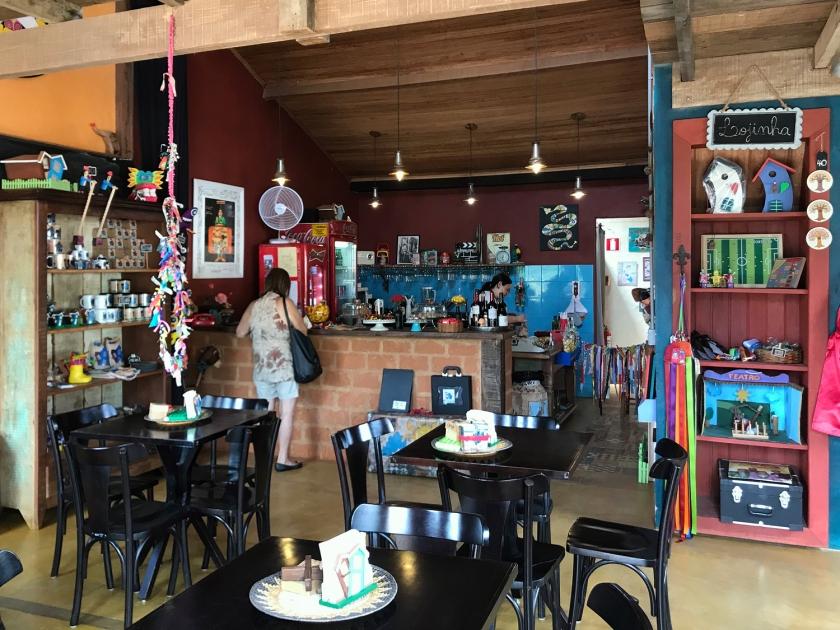 Café e lojinha