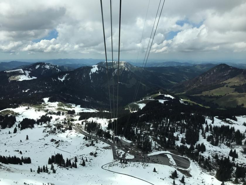 Subindo para o pico da montanha