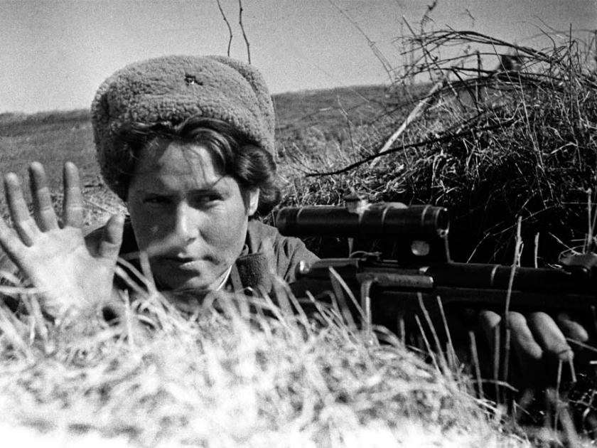 Franco-atiradora russa na Segunda Guerra Mundial