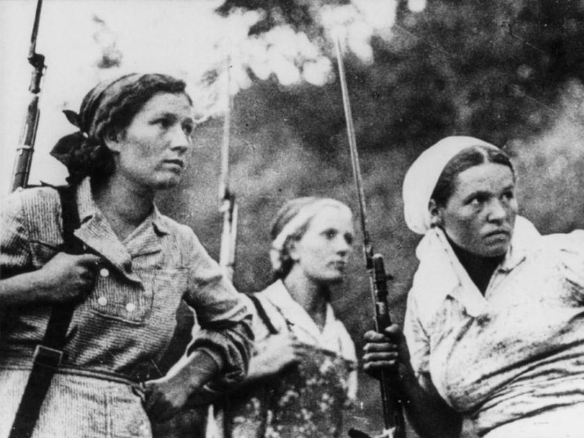 Mulheres da resistência
