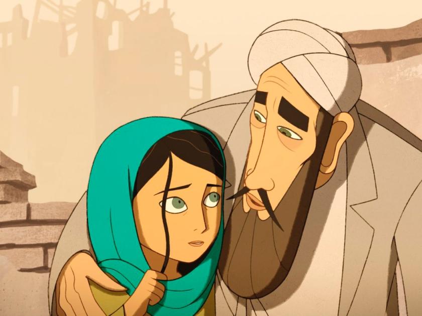 Parvana e seu pai