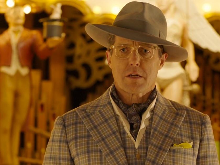 O ator Hugh Grant é uma das novidades no elenco