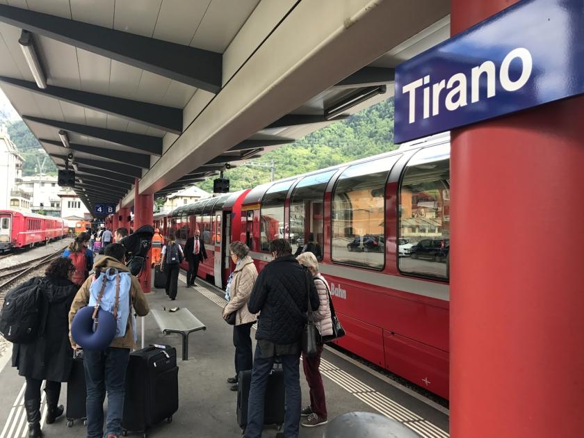 Estação de trens de Tirano