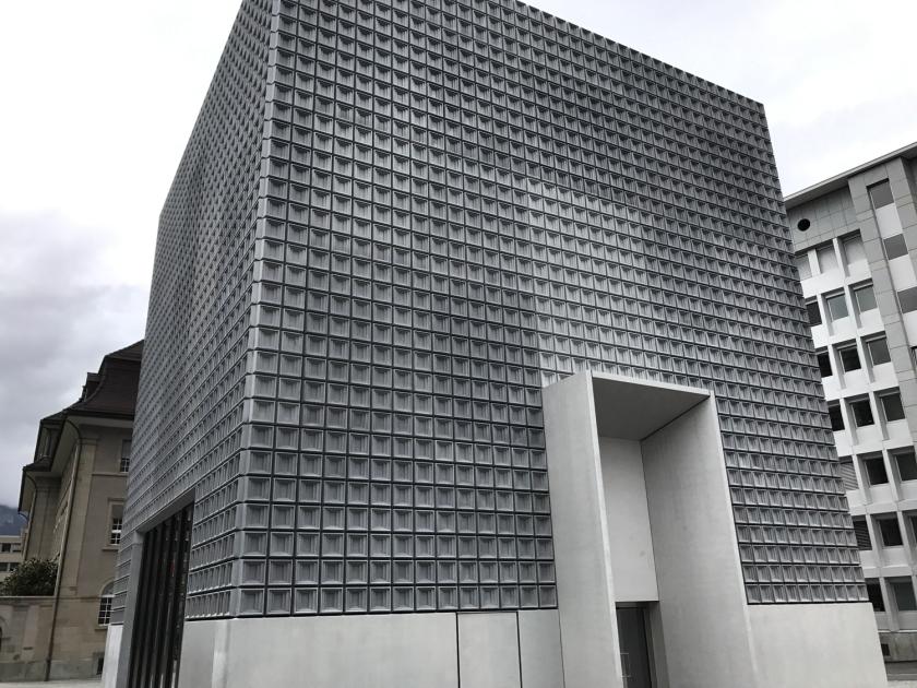 Prédio da expansão do museu
