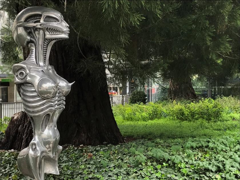 Escultura de H. R. Giger
