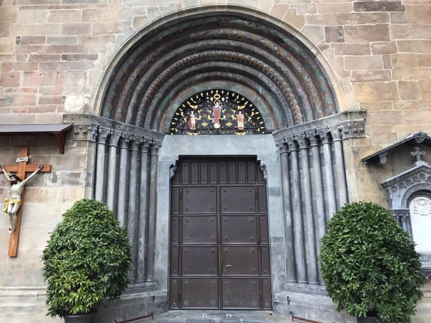 Entrada principal da catedral