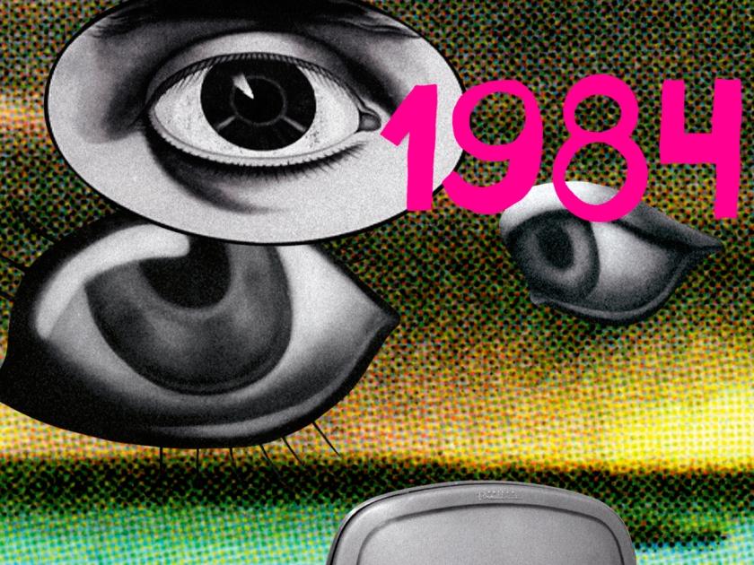 1984, livro escrito por George Orwell