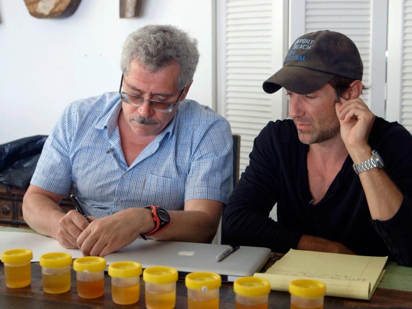 Grigory Rodchenkov e Bryan Fogel