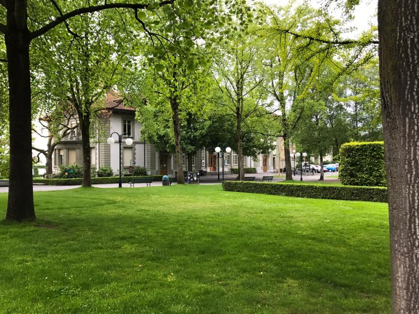 Esplanade de Montbenon