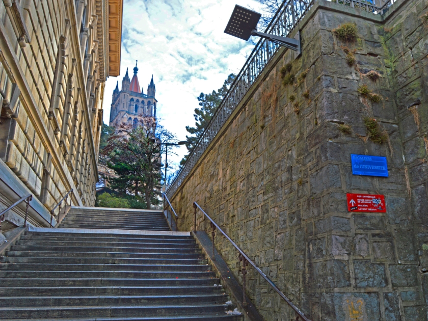 Escaliers de l'Université