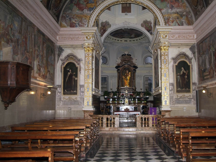 Afrescos da Chiesa di San Rocco