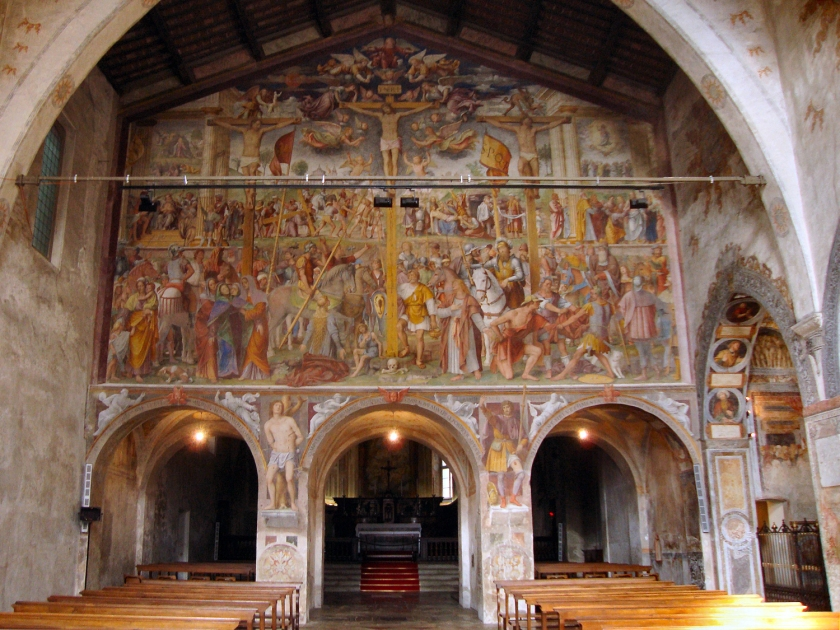 Afresco da Chiesa Santa Maria degli Angioli