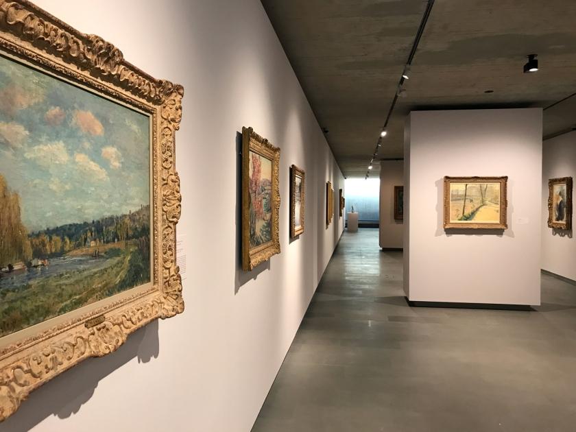 Exposição temporária de obras impressionistas e pós-impressionistas