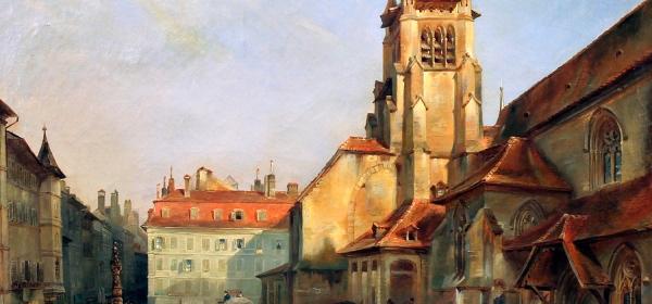Place Saint-François, em 1840
