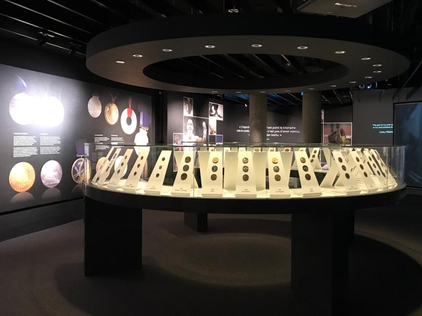 Exposição das medalhas
