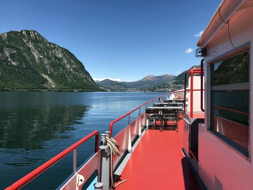 Lunch Tour no Lago di Lugano