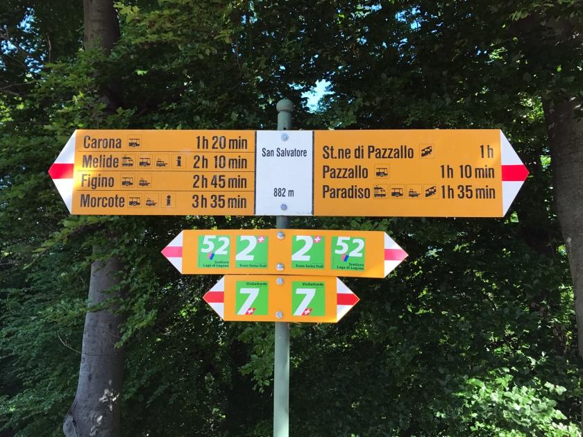 Indicações de trilhas