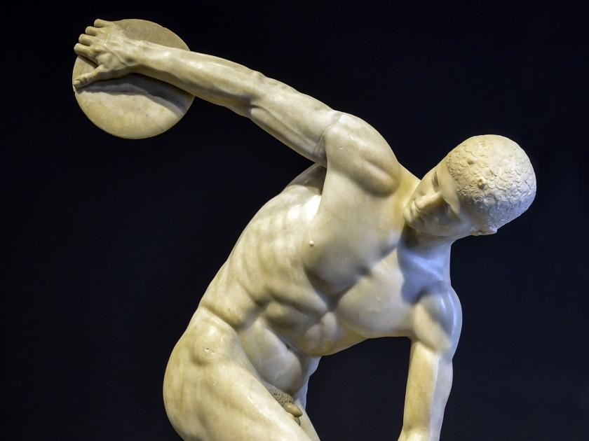 Estátua de arremesso de disco
