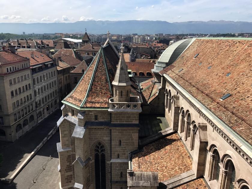 Arquitetura da Cathédrale Saint-Pierre