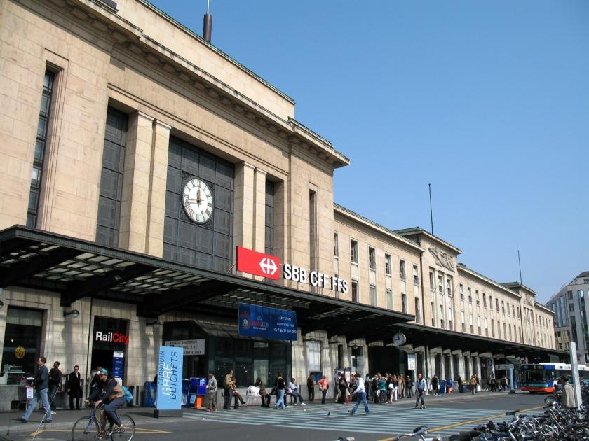 Prédio da estação de trem