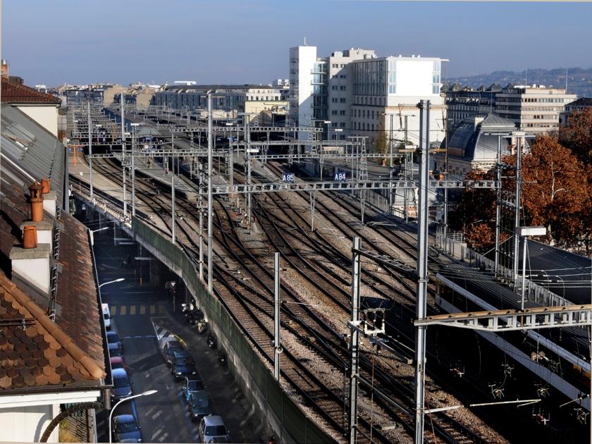Linhas de trem da cidade