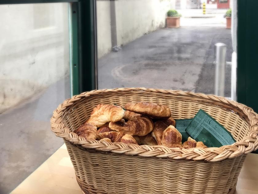 Croissants de cortesia