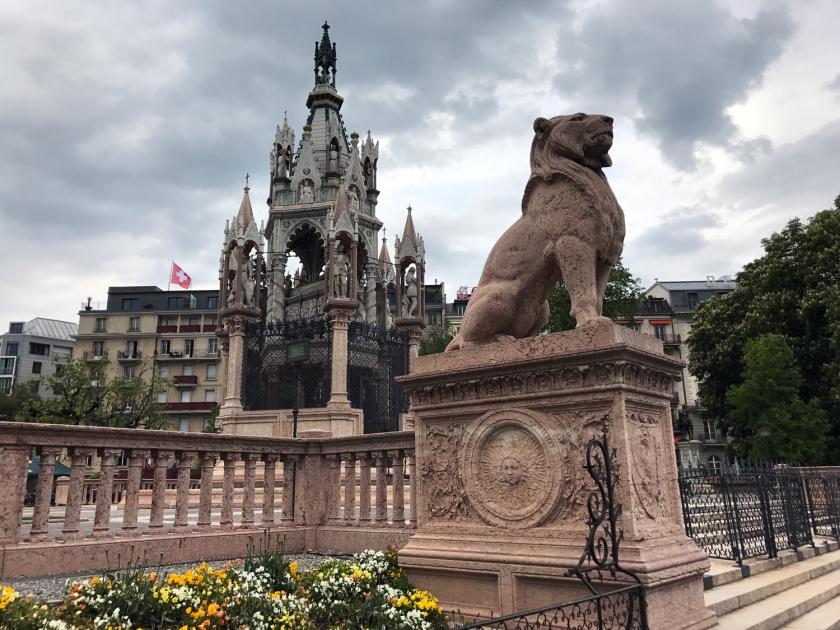 Escultura do leão