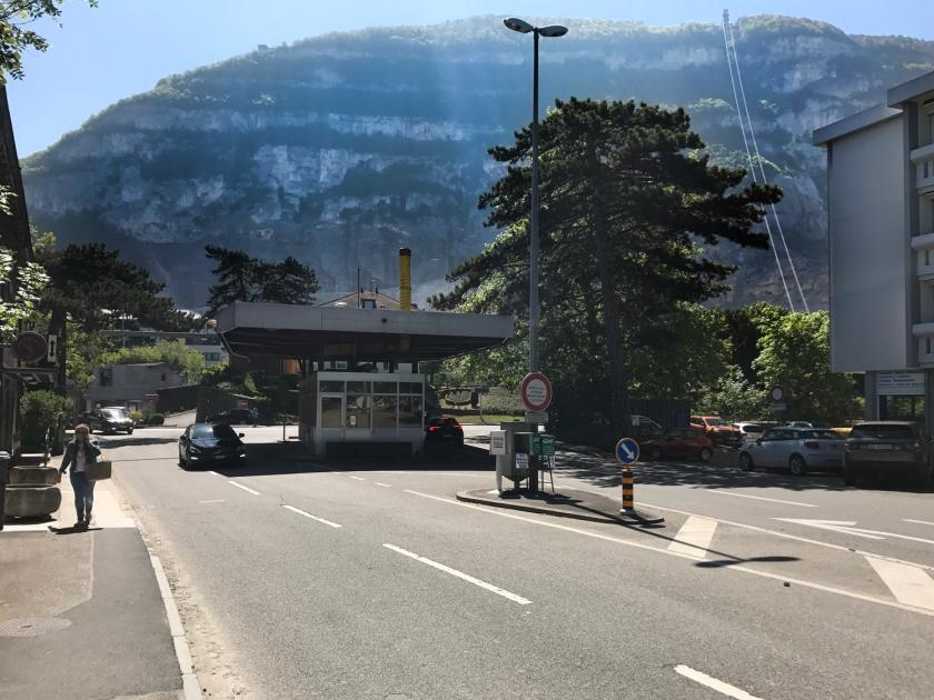Fronteira da Suíça com a França
