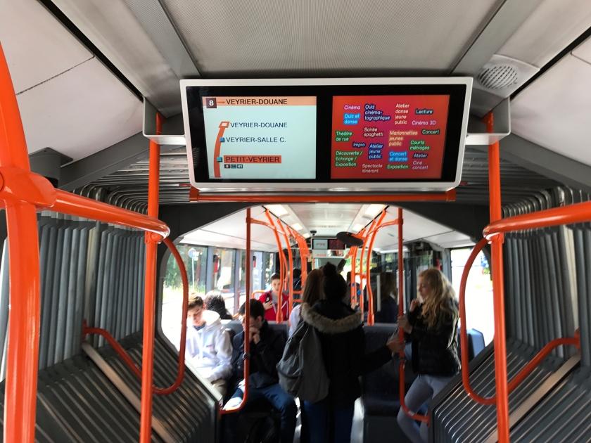 Ônibus urbano de Genebra