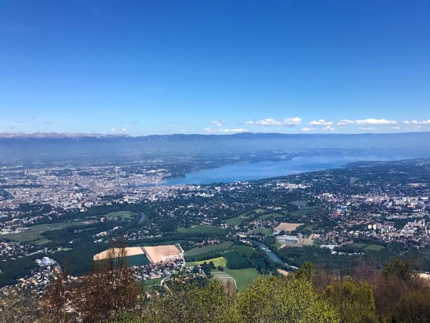 Vista do topo do monte