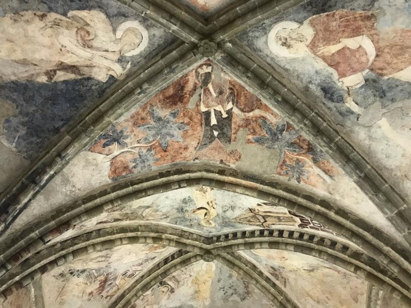 Pinturas originais da capela