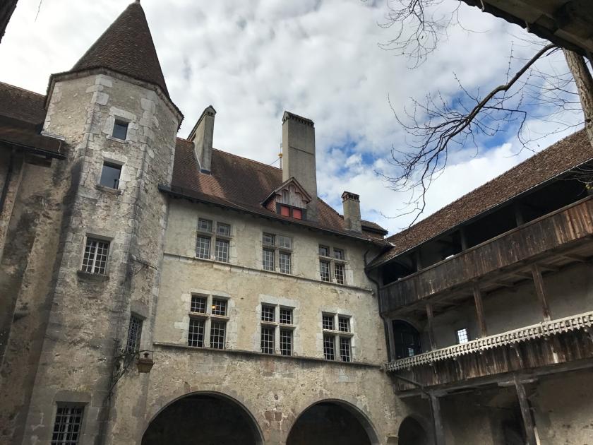 Arquitetura do castelo