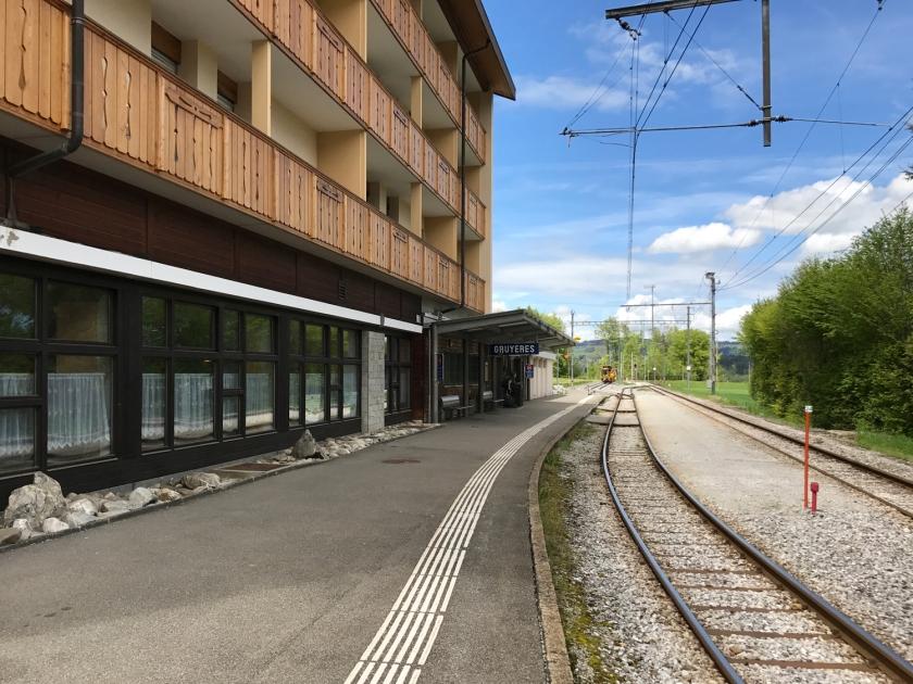 Estação de trem de Gruyère