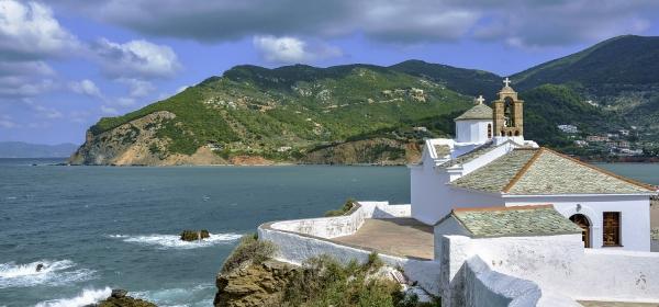 Ilha grega de Skopelos