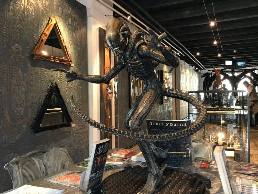 Escultura do Alien