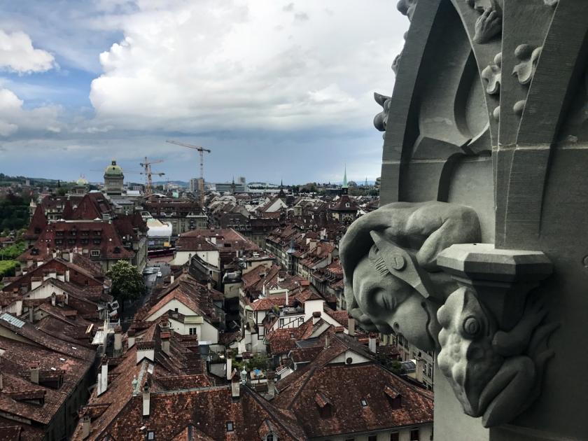 Gárgulas, elementos góticos da fachada