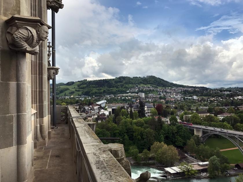 Vista da torre da catedral
