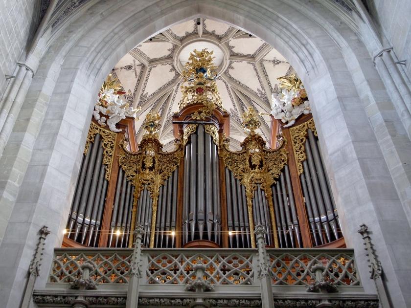 Órgão principal da catedral