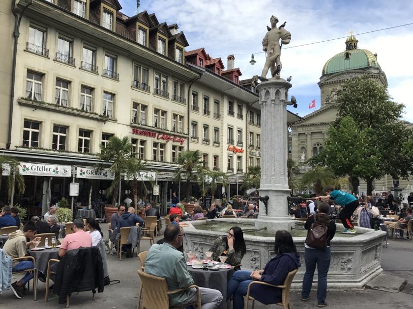 Bärenplatz, a praça dos ursos