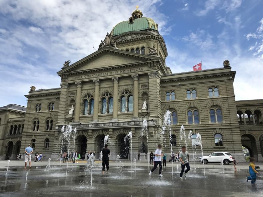 Bundeshaus, onde funciona o Parlamento