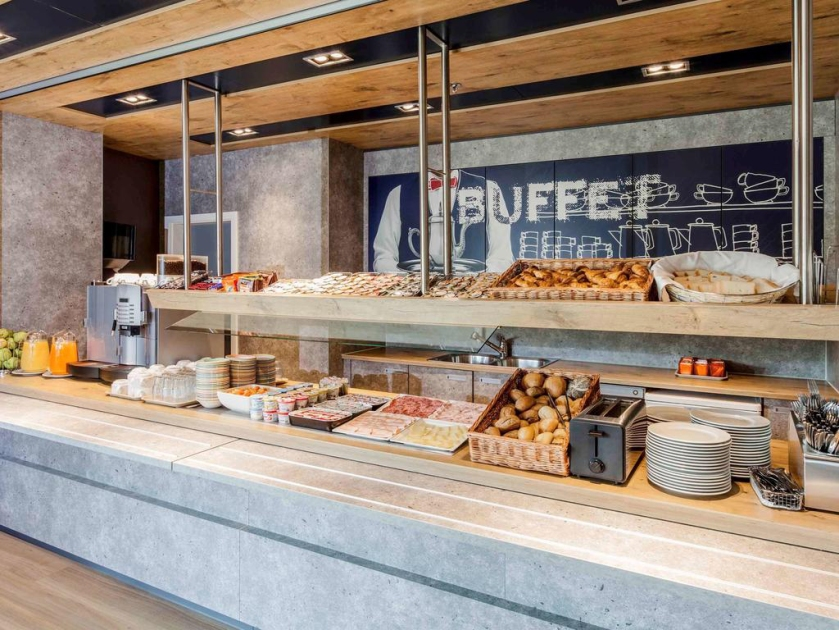 Café da manhã buffet
