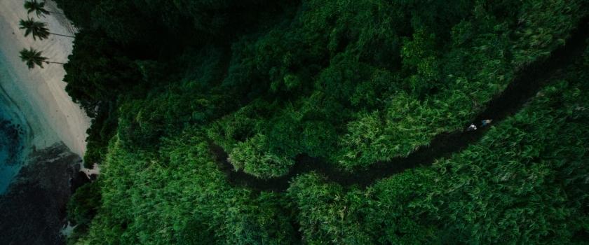 Paisagem deslumbrante nas ilhas Fiji