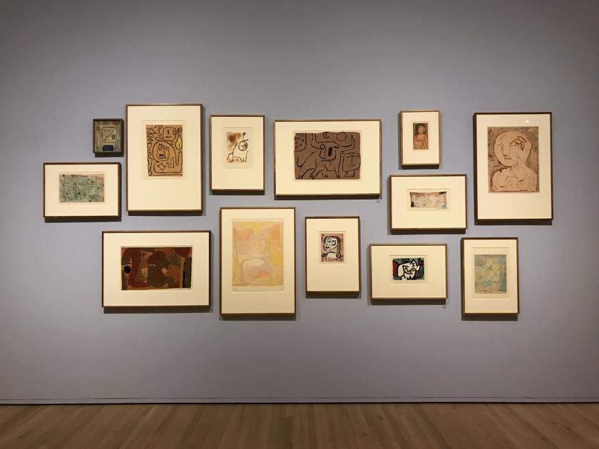 Obras de Paul Klee em exposição