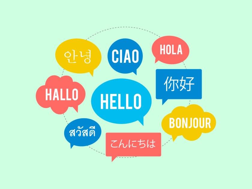 É difícil fazer compras em outros idiomas