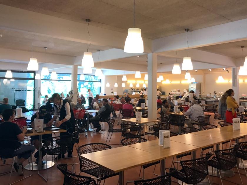 Cafeteria da loja