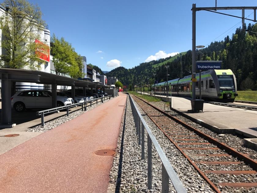 Estação de trem Trubschachen