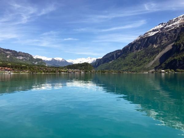 Passeio de barco de Brienz a Interlaken