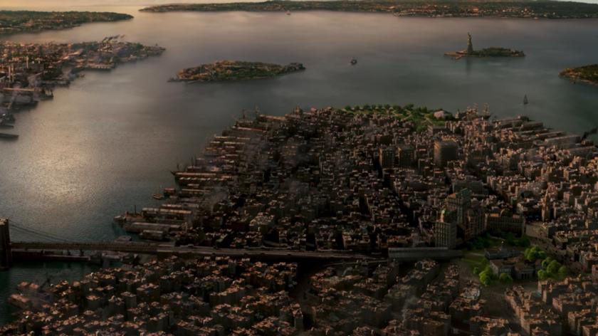 Panorama da cidade