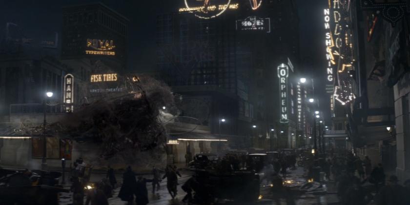 Times Square da década de 1920